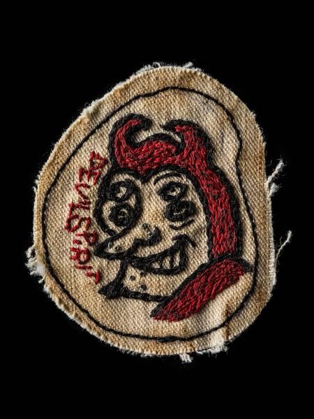 Chain Stitch Patch – Devil04