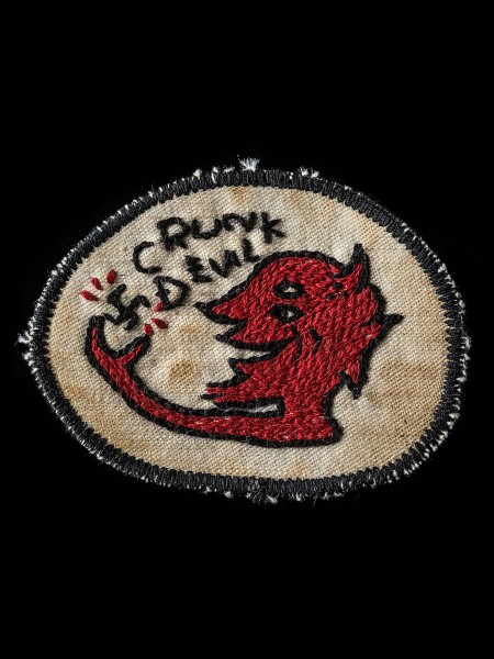 Chain Stitch Patch – Devil02