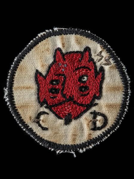 Chain Stitch Patch – Devil01