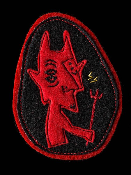 Chain Stitch Patch – Devil03