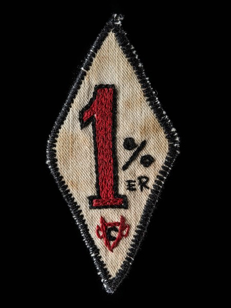 Chain Stitch Patch – 1%er