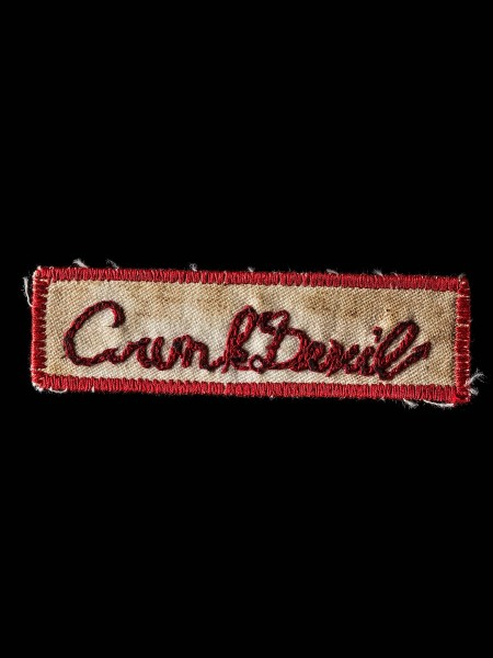 Chain Stitch Patch – Crunk Devil