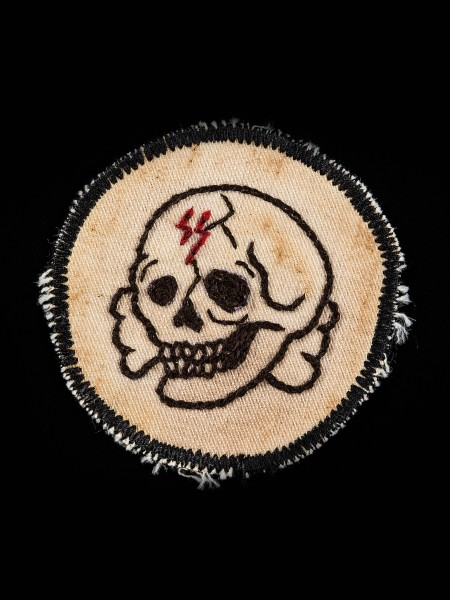 Chain Stitch Patch – Skull