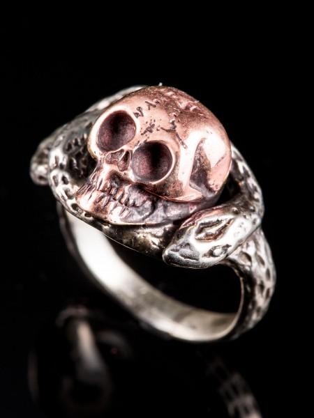 Kalte Brunner Ring – Combi(Pink Gold × Silver)
