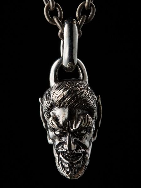 Devil Head Greaser – Silver
