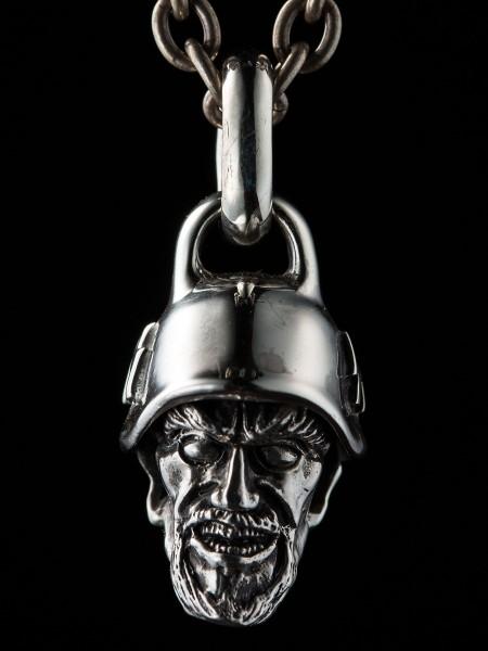Devil Head Nazi – Silver