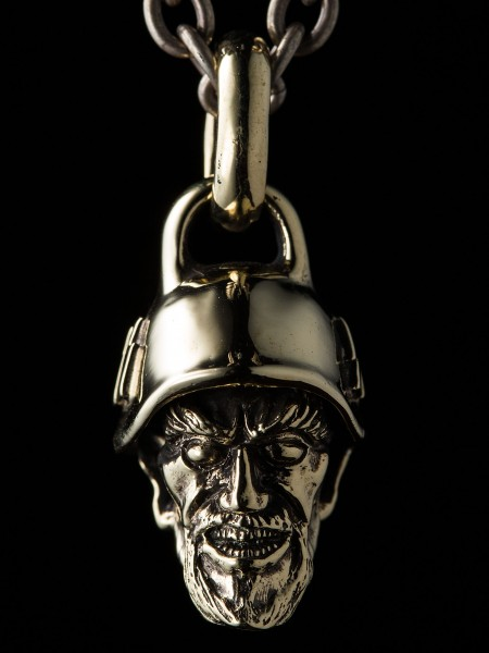 Devil Head Nazi – Brass