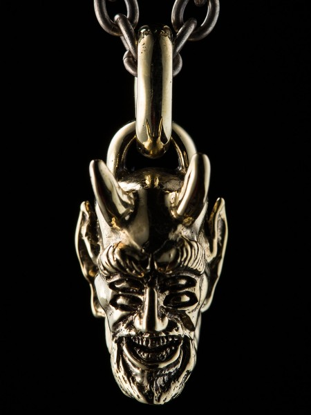 Devil Head Four-eyed Drunk – Brass