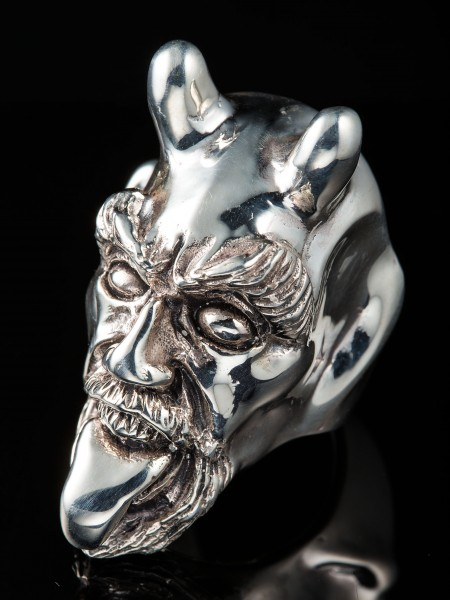 Devil Snook Large Ring – Silver
