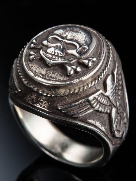 Totenkopf Ring – Silver
