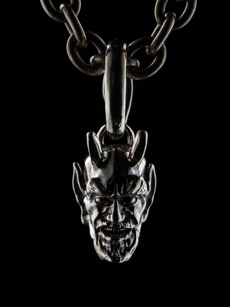 Mini Devil Head – Silver