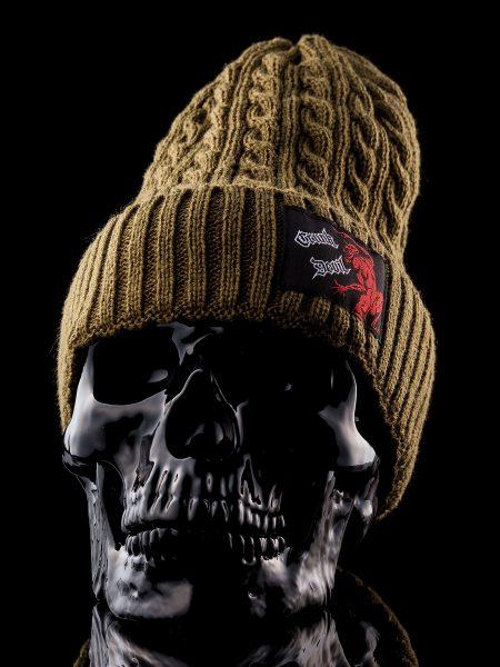 Knit Cap –  Khaki