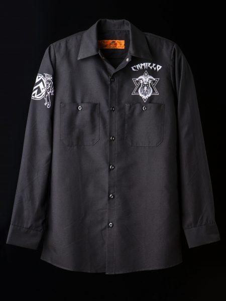 ワークシャツ – 黒