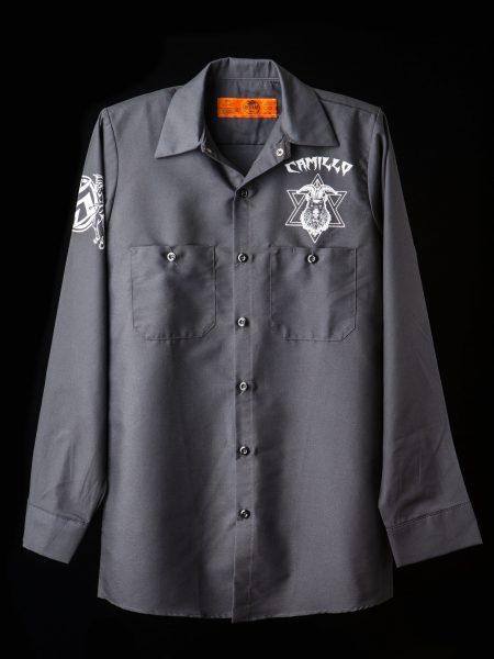 ワークシャツ – グレー