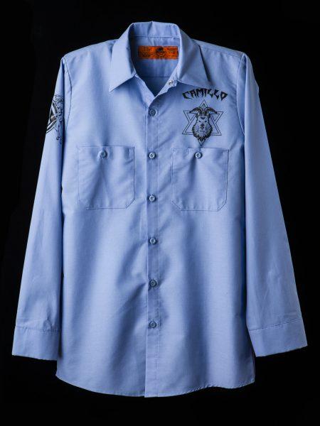 ワークシャツ – ライトブルー