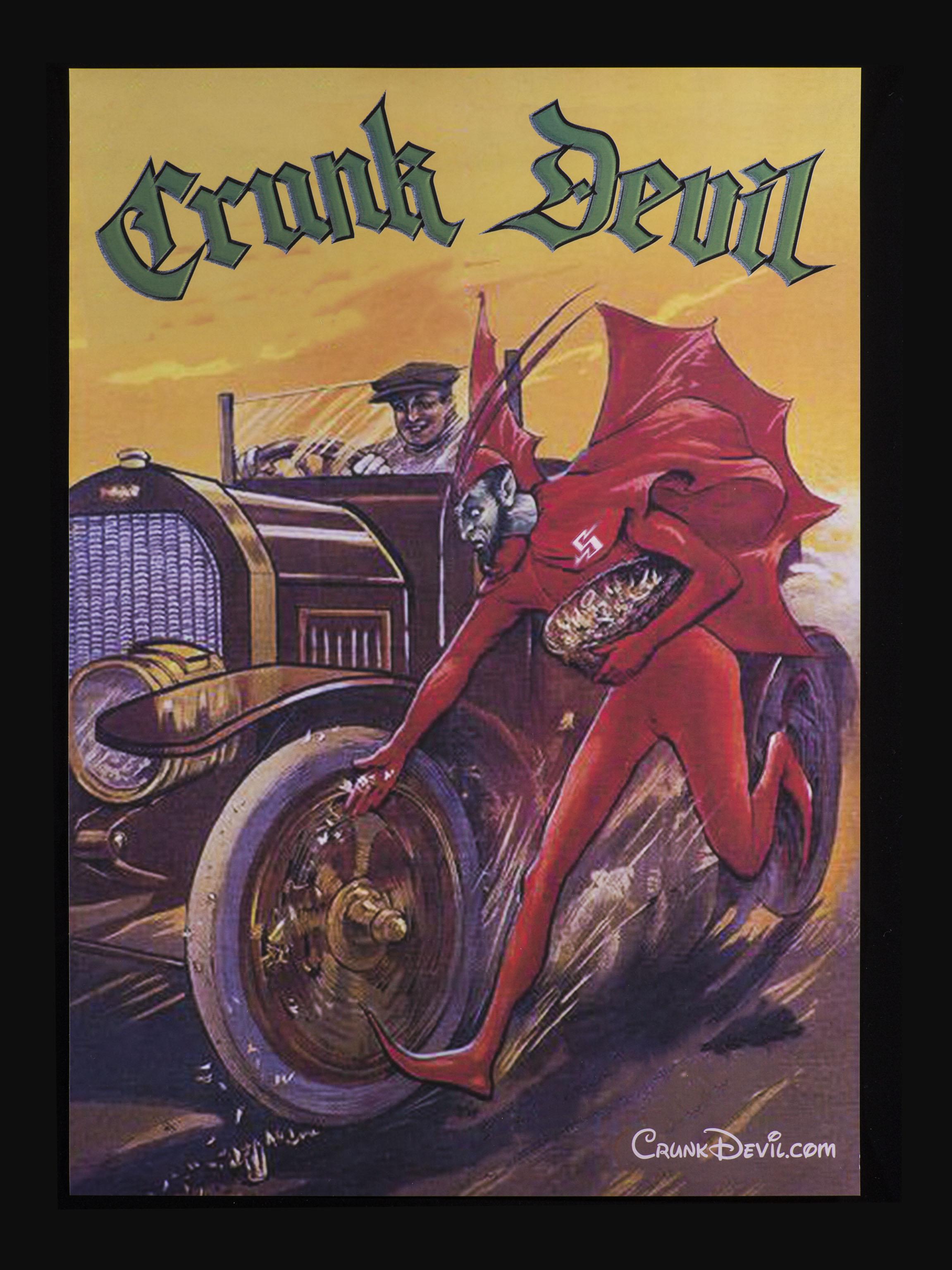 悪魔のポスターアップしました。