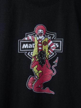 マッドナルド、新作ヘロイン三木さん、ハレンチ三木さんと三二ぃちゃん、Tシャツ3種類いました。