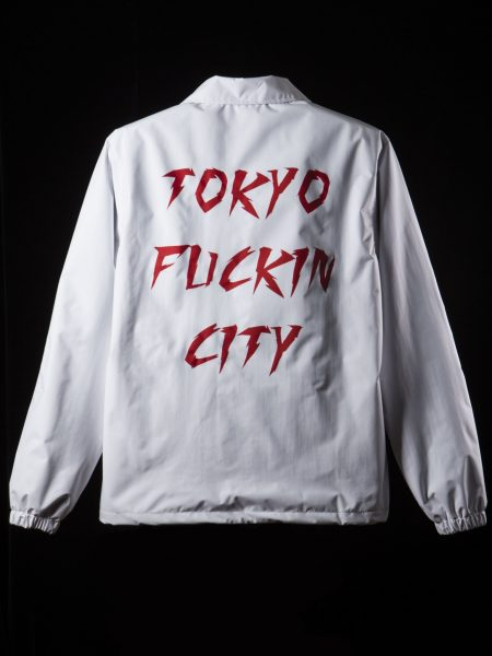 新Tokyo Fuckin City Coach JKT – White