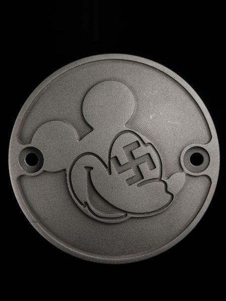 ショベル用  卍三木さん アルミ製ポイントカバー 横穴