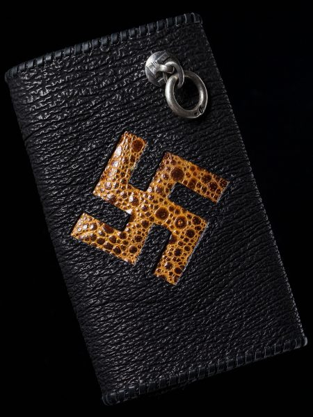 Long Wallet – Shark skin  卍 frogskin 卍