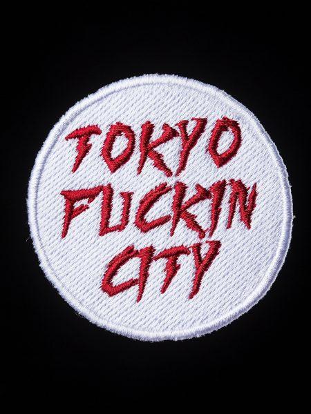 TOKYO FUCKIN CITYワッペン – 白