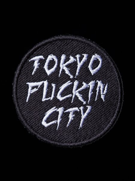 TOKYO FUCKIN CITYワッペン – 黒