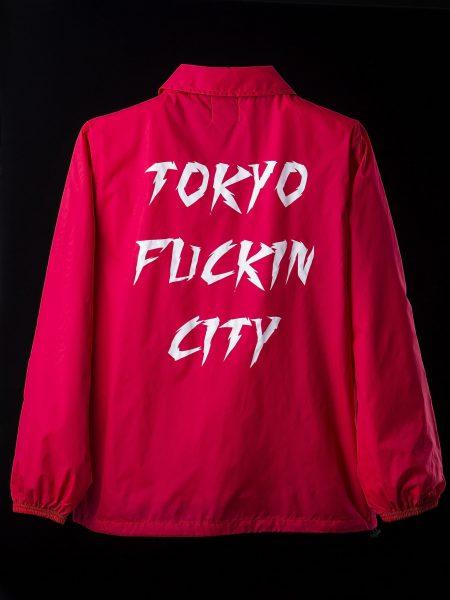 新Tokyo Fuckin City Coach JKT – RED