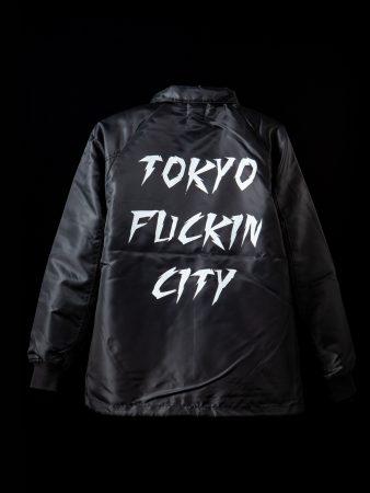 Tokyo Fuckin City ボア付きCoach JKT