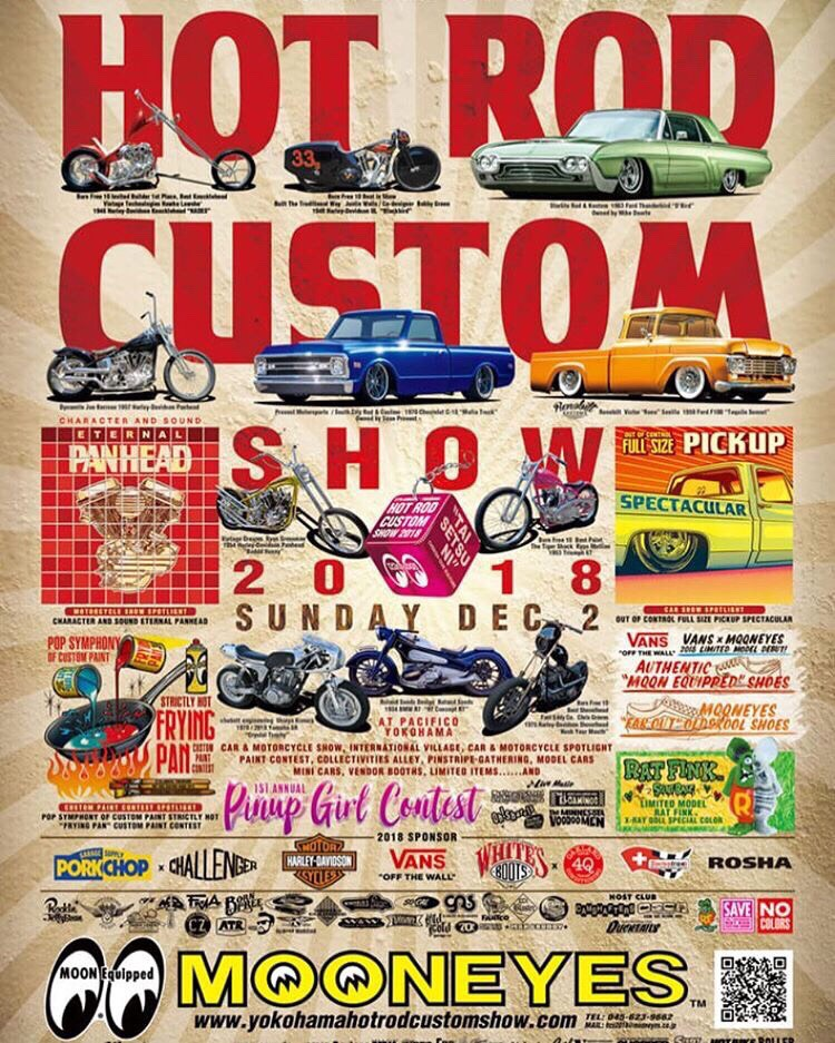 HOT ROD CUSTOM SHOW 2018