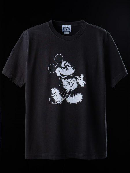 ヘロイ●Tシャツ – ブラック(ヴィンテージ風プリント)