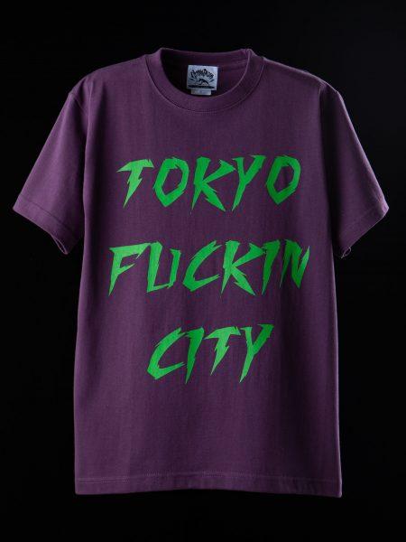 TOKYO FUCKIN CITY Tee – パープル