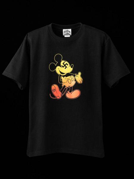 ヘロイ●Tシャツ – ブラック(グラデーションプリント)